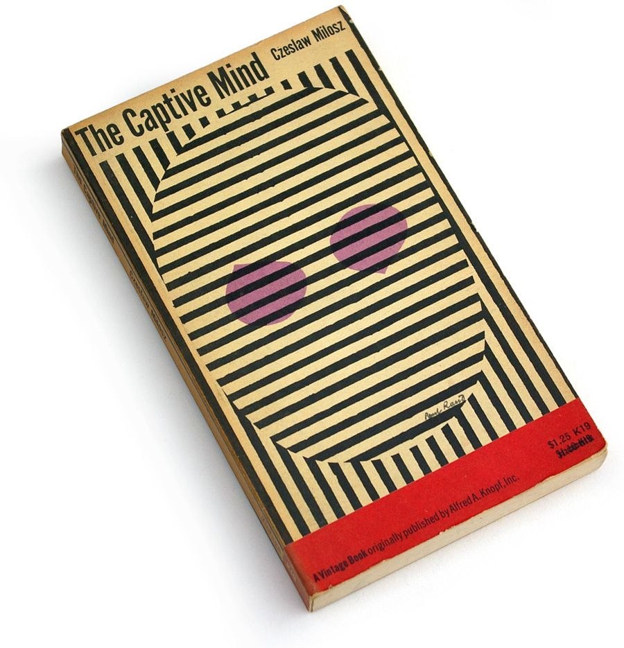 Front Cover Designed By Paul Rand Notice The Light Dark Contrast And Use Of Monochromatic Color Scheme