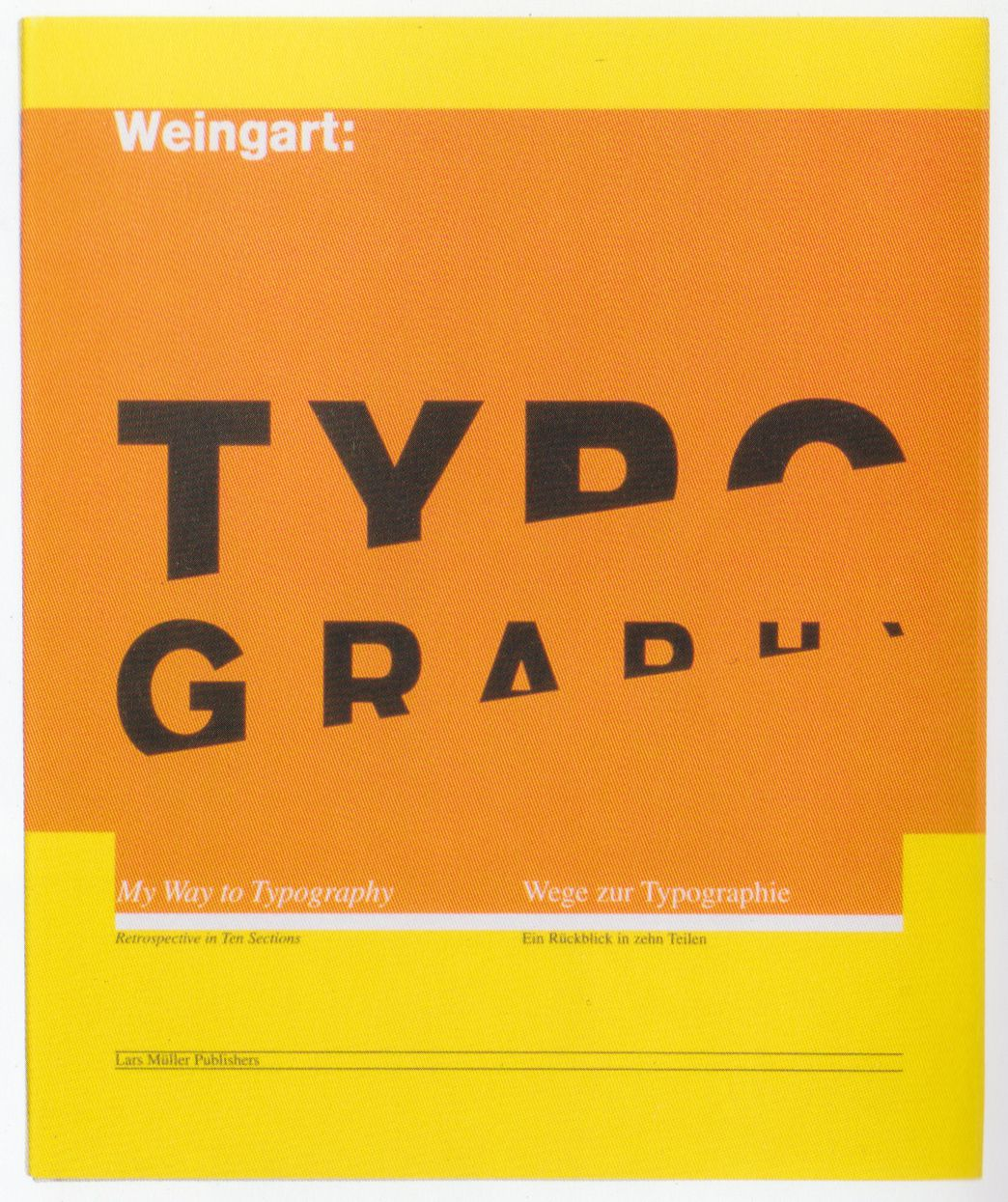 Heres An Example Of Analogous Color Use From Wolfgang Weingarts Book About Typography